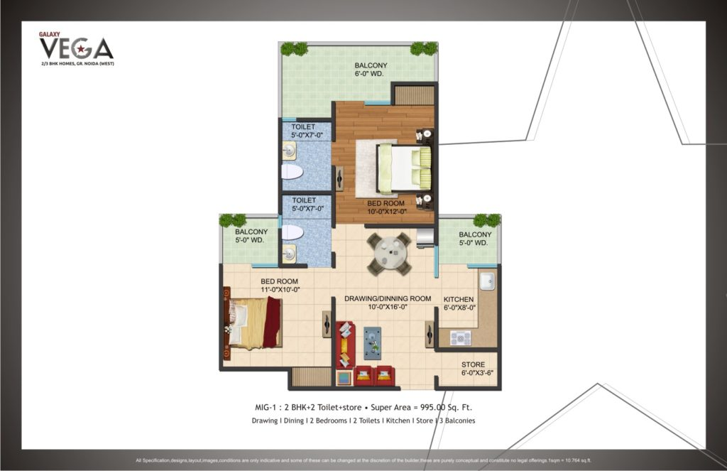 galaxy-vega-2bhk-995sqft